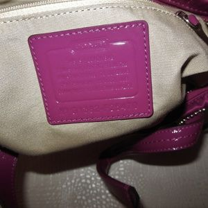 Coach Bags - NEW COACH F25470 Passion Berry SIS Sequin Tote
